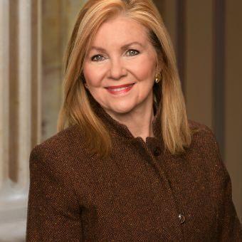 Republican Marsha Blackburn represents Tennessee in the United States Senate.