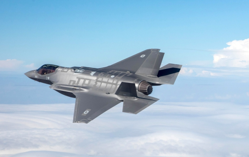 Pictured: An Israel Air Force F-35. (Image source: Israel Air Force/Wikimedia Commons)