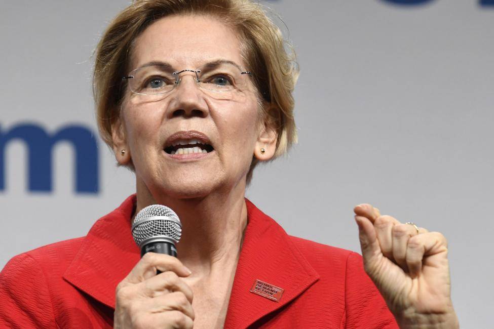 2020 Democratic presidential candidate Elizabeth Warren released policy proposals Friday to help the Native American community.