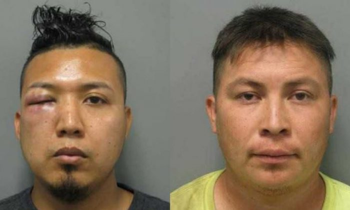 Mauricio Barrera-Navidad, 29 and Carlos Palacios-Amaya, 28, both illegal immigrants from El Salvador, raped an 11-year-old girl,