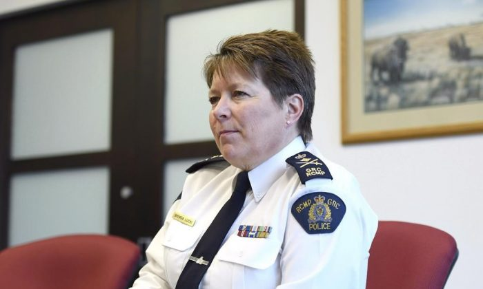 RCMP commissioner Brenda Lucki in a file photo.
