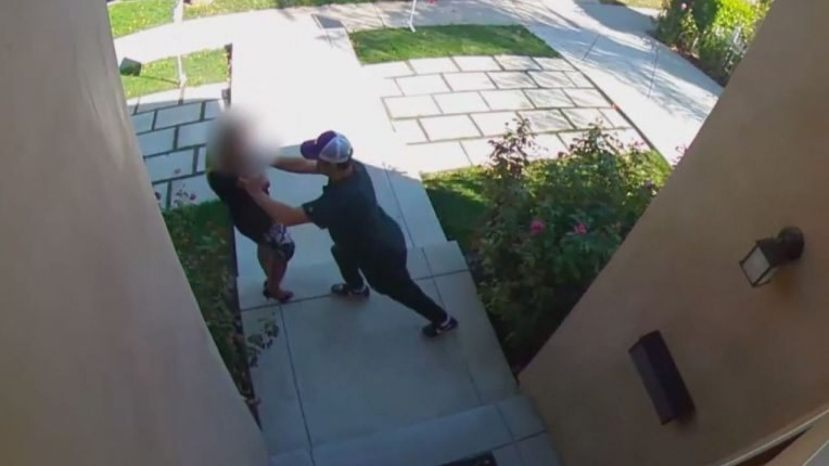 The realtor was violently attacked on Sunday at an open house in Encino.