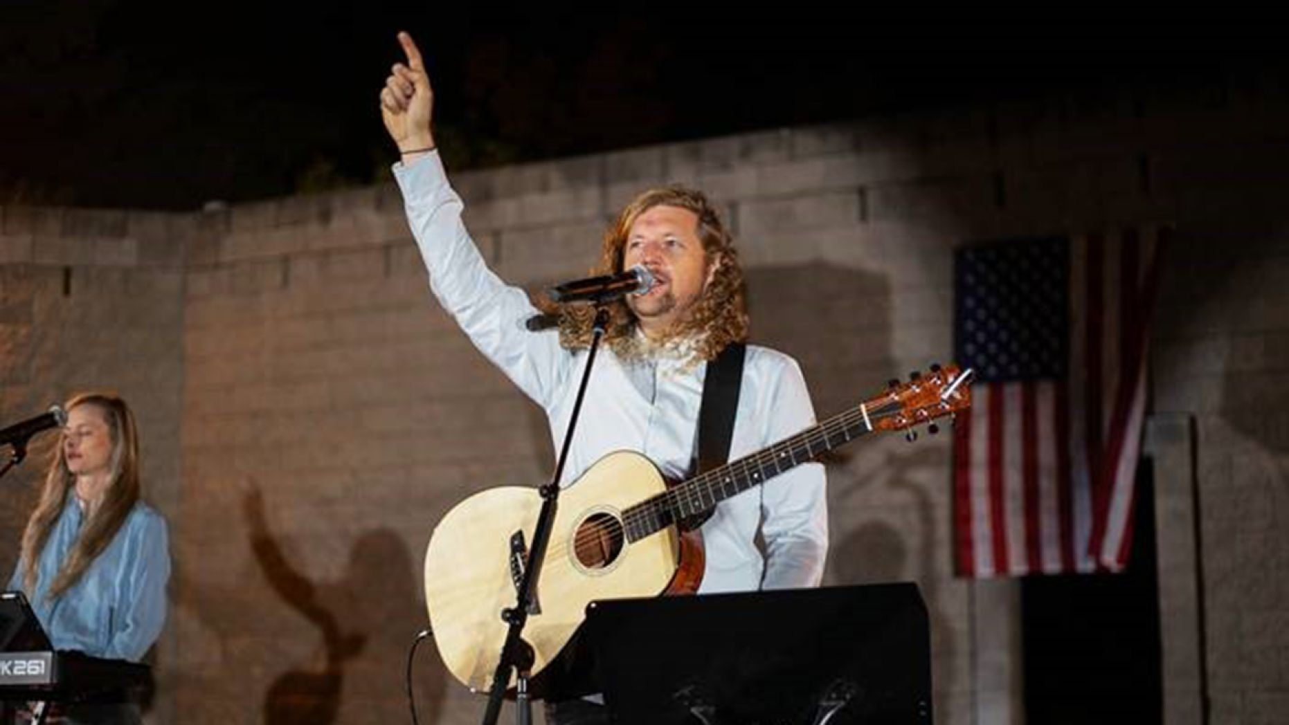 Worship leader Sean Feucht is running for the third U.S. congressional district in Northern California.