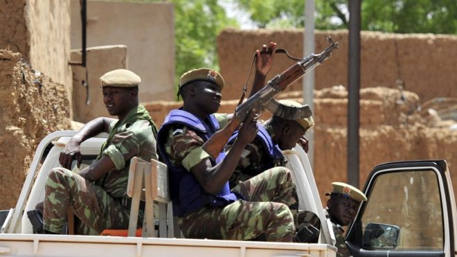 Military enforcements have been put in place in the area following the attack.