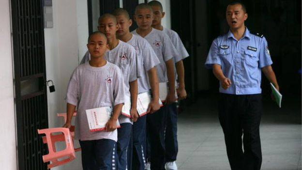 Juvenile offenders often get sent to a correction centre.