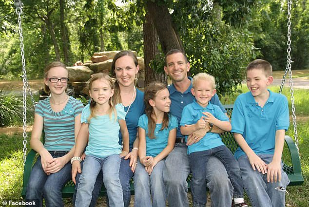 In an act of vengeance he stalked his ex-wife's family and forced his way into the Stay family's home. He killed 39-year-old Stephen Stay and his 34-year-old wife Katie, along with their four children, (pictured second left to right) 7-year-old Rebecca; 9-year-old Emily; 4-year-old Zach; and 13-year-old Bryan. Cassidy Stay (far left) survived the shooting