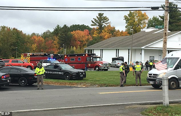 At least four people are believed to have been injured in a shooting at New England Pentecostal Ministries in Pelham, New Hampshire