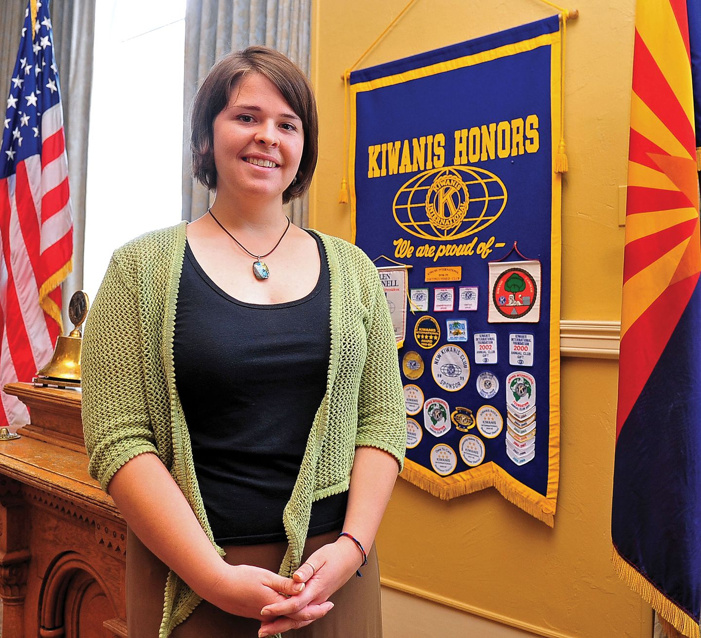 Kayla Mueller in Prescott, Ariz., on May 30, 2013. She was kidnapped by the Islamic State in 2013 and killed in 2015.