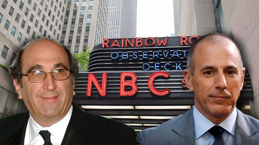 NBC News chairman Andy Lack was widely criticized for keeping the investigation into who knew about Matt Lauer's sexual misconduct in-house.