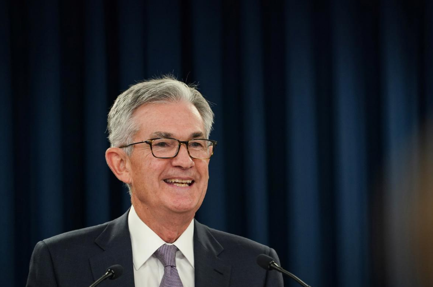 Federal Reserve Chairman Jerome Powell holds a news conference following a closed two-day Federal Open Market Committee meeting in Washington, U.S., September 18, 2019.