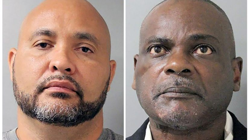Steven Bryant and Gerald Goines in Houston. The former Houston police officers are facing federal charges for their roles in a January  drug raid that left two people dead.