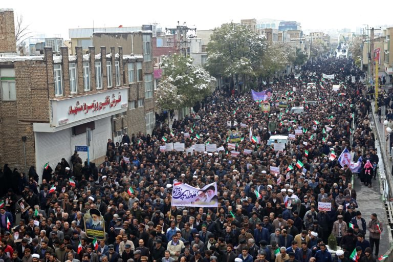 "Nov. 20, 2019, as President Hassan Rouhani said the country's people had defeated an ""enemy conspiracy"" behind a wave of violent street protests."