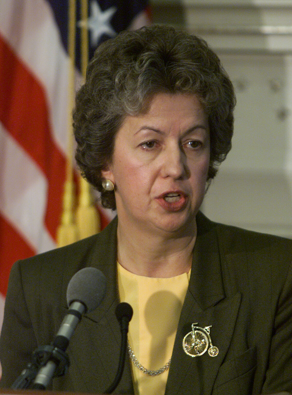 Federal Bureau of Prisons Director Kathleen Hawk Sawyer in a 2001 file photograph.