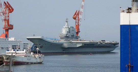 Type 002 aircraft carrier of People's Liberation Army (Tyg728/WikiCommons)
