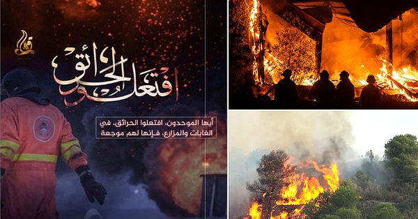 New ISIS propaganda flyers have surfaced telling followers to burn America to the ground.