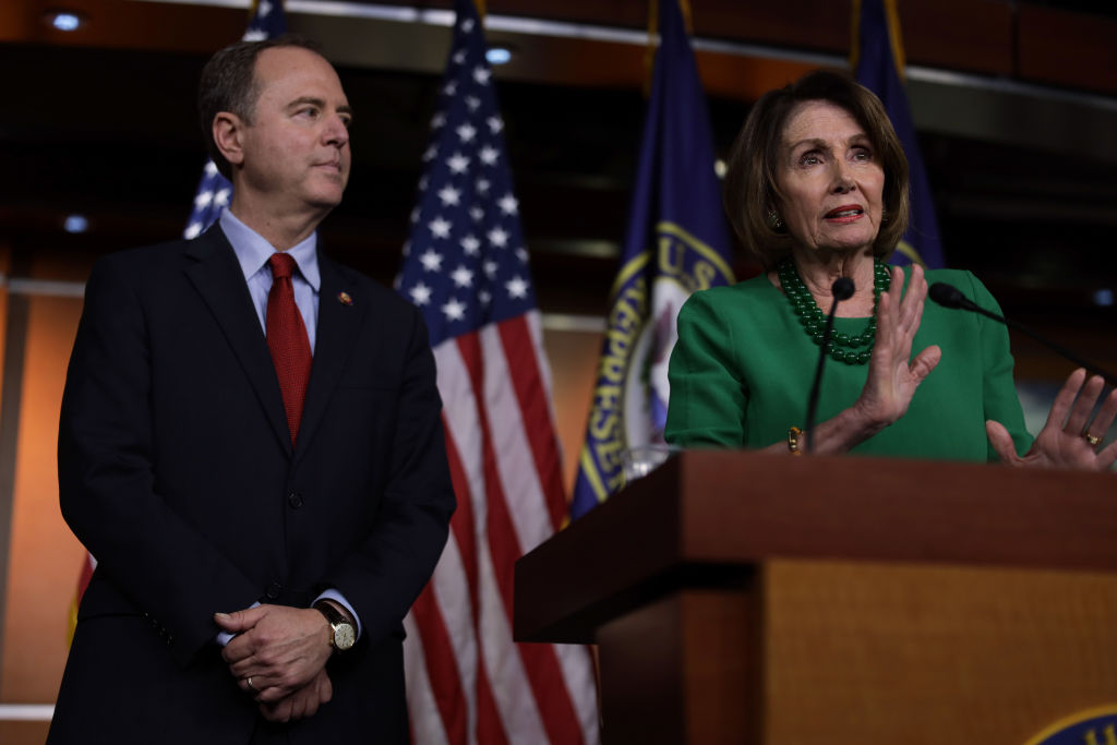 The House of Representatives, under Speaker Nancy Pelosi, will not punish Rep. Adam Schiff for targeting his political enemies with secret subpoenas of their phone records. Unethical, invasive, illegal activity is permissible as long as its focus is against President Trump.