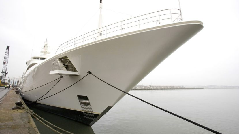 The impressive Ecstasea superyacht can comfortably accommodate up to 15 guests and 27 crew members.