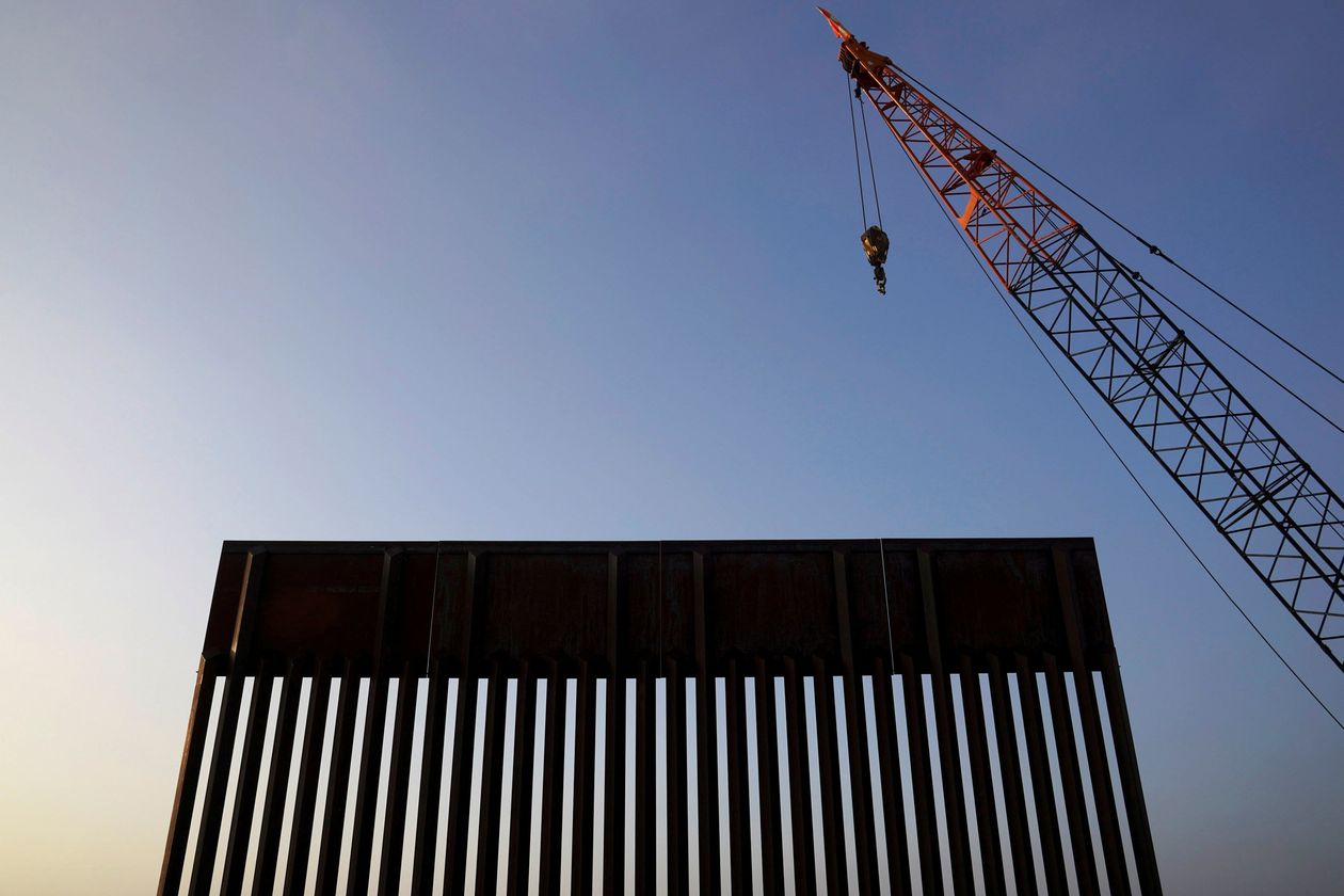 President Trump's plan to pay for a border wall with military funds has prompted court fights.
