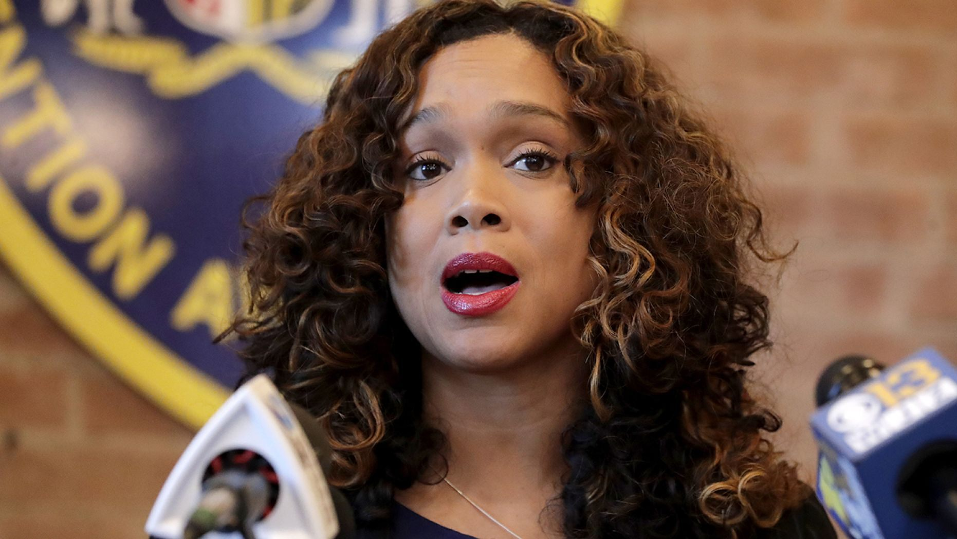 Mosby sent her list to the department in the hopes it will take action, local media reported.
