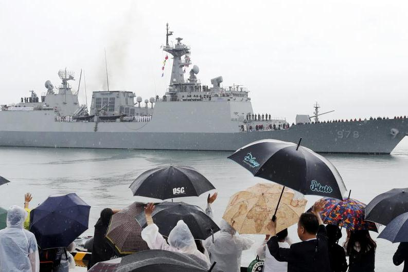 The 4,400-ton destroyer Wang Geon is scheduled to leave South Korea for a mission in the Gulf of Aden.
