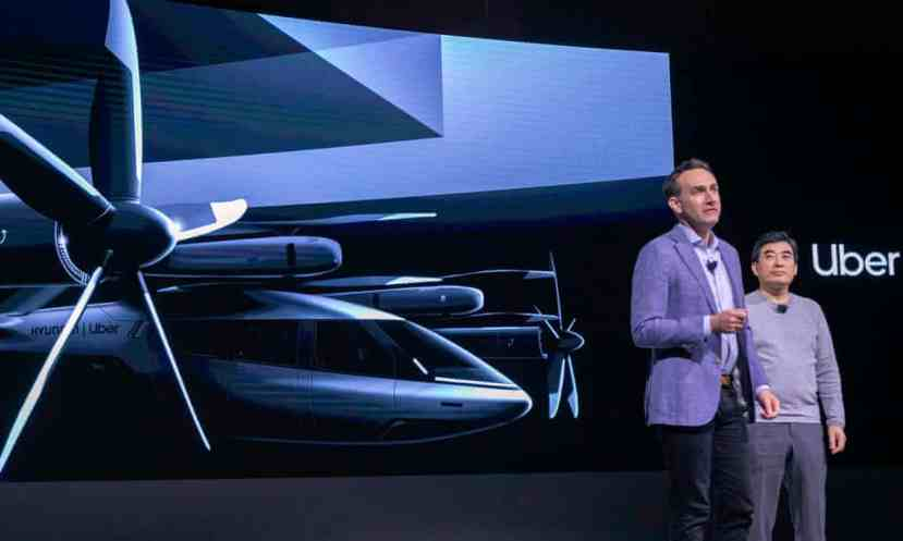 The concept between Uber and Hyundai was revealed at the Consumer Electronics Show in Las Vegas.