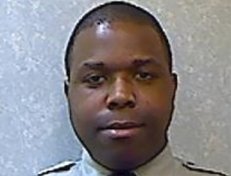 This undated photo provided by the Prince George's County Police Department shows Prince George's County Police Department Cpl. Michael Owen Jr. Owen, accused of shooting and killing a handcuffed man in the front seat of a police cruiser,