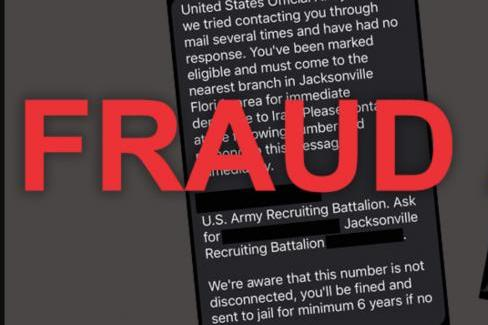 U.S. Army Recruiting Command and Selective Service say rumors of an upcoming draft are false -- and that texts informing the recipient of draft selection are fraudulent.