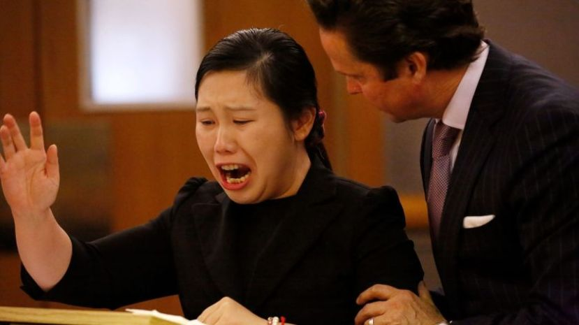 Yijing Chen and her mother were hit by a pickup driver while crossing the street in Calabasas.