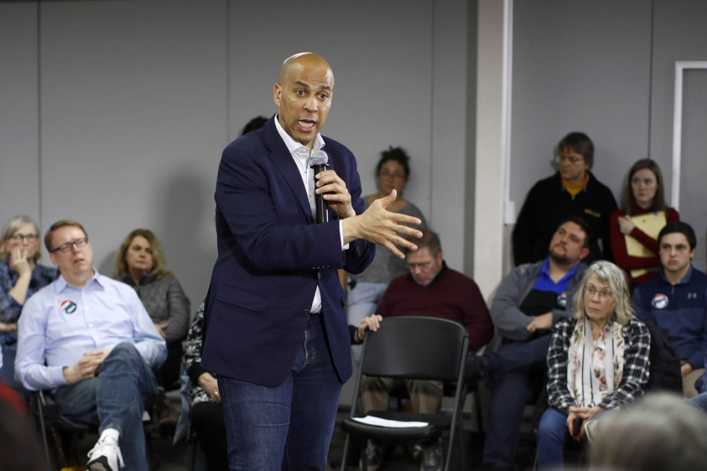 Sen. Cory Booker. | Patrick Semansky/AP Photo