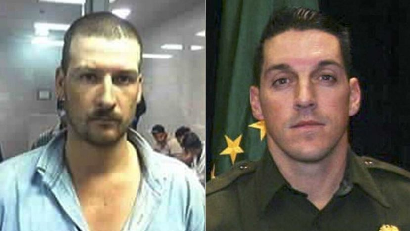 Heraclio Osorio-Arellanes, left, has been sentenced to life in prison for murdering U.S. Border Patrol Agent Brian Terry in Arizona in 2010.