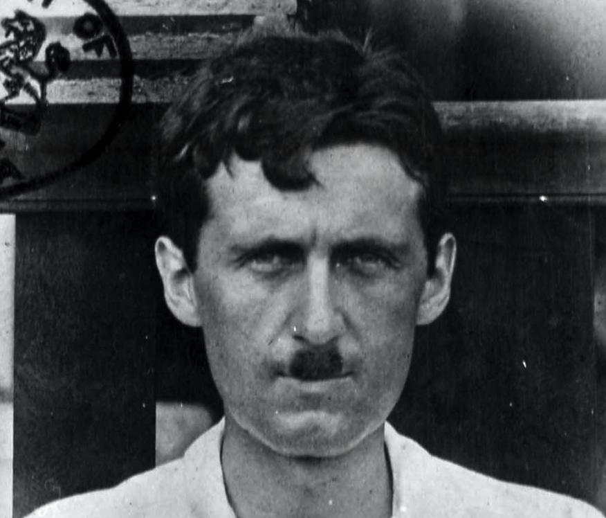 Political writer George Orwell, who died Jan. 21, 1950