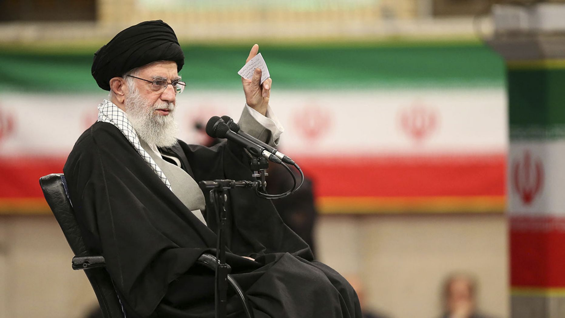 Khamenei said Wednesday that Trump's Mideast peace plan will not outlive the president.