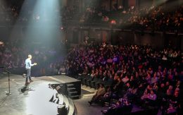 Crossroads Church Pastor Brian Tome made a big announcement Sunday,