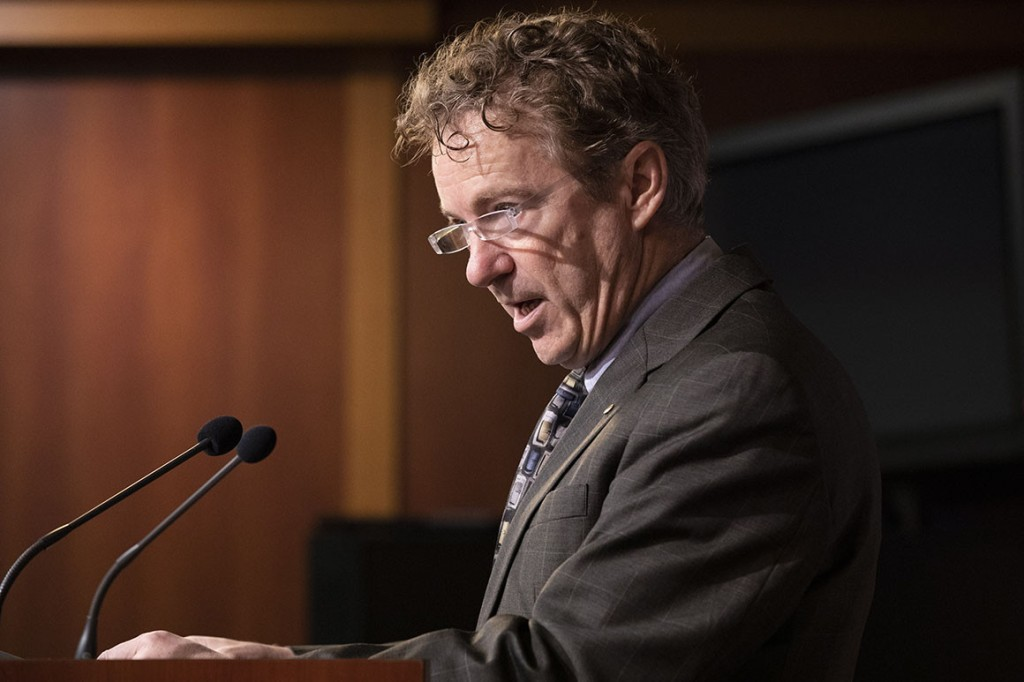 Sen. Rand Paul. | Jacquelyn Martin/AP Photo