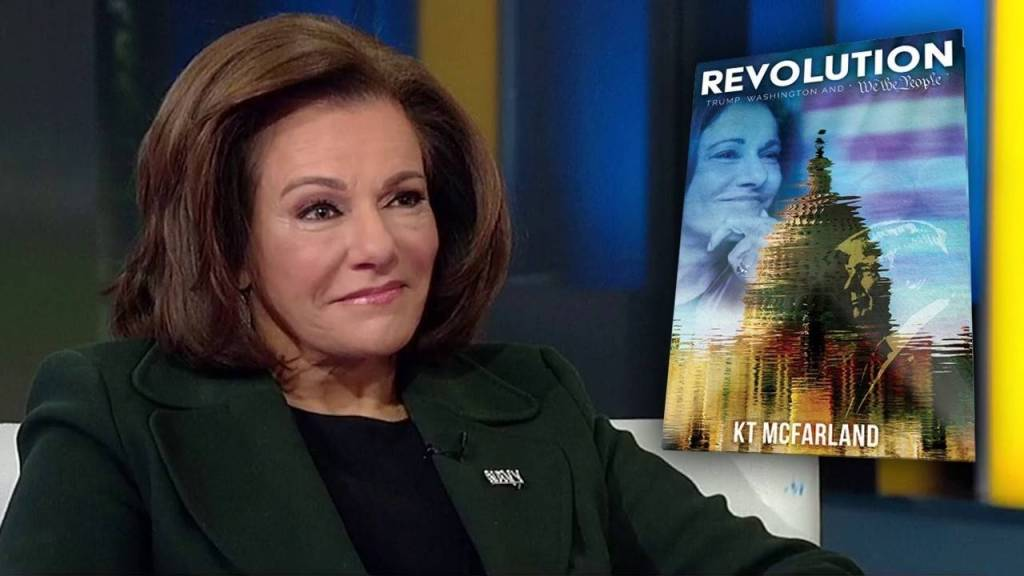 Former White House deputy national security adviser KT McFarland