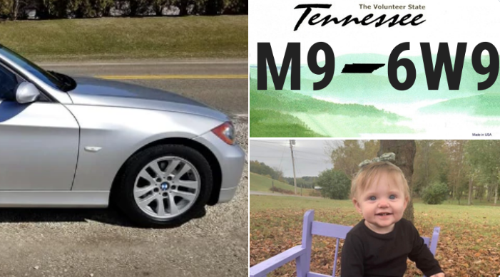 If you see the vehicle or the child, call 1-800-TBI-FIND!