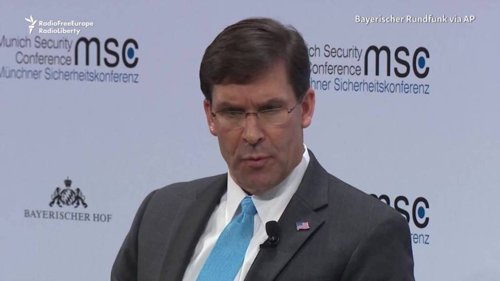Esper: Taliban Deal 'Looks Very Promising'