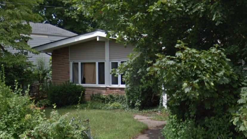Wilmer Maldonado Rodriguez was found dead Sunday behind this home in New Cassel, N.Y., police say.