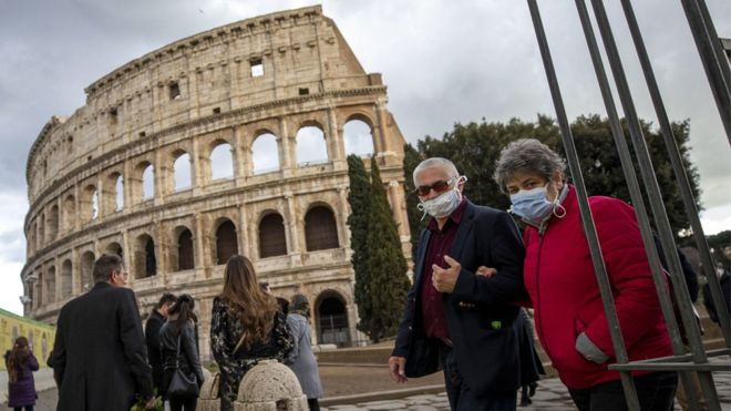 Italy is home to Europe's biggest coronavirus outbreak.EPA