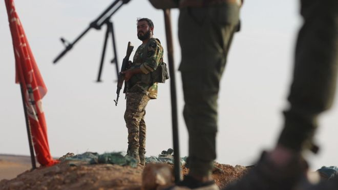 A number of Shia militias in Iraq receive weapons, training and financing from Iran