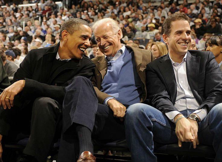 Barack Obama, Joe Biden, and Hunter Biden / Getty Images