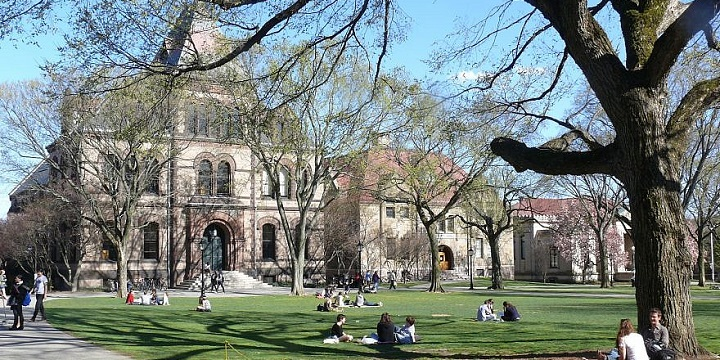 The campus of Brown University in Providence, Rhode Island. Photo: Wikimedia Commons.
