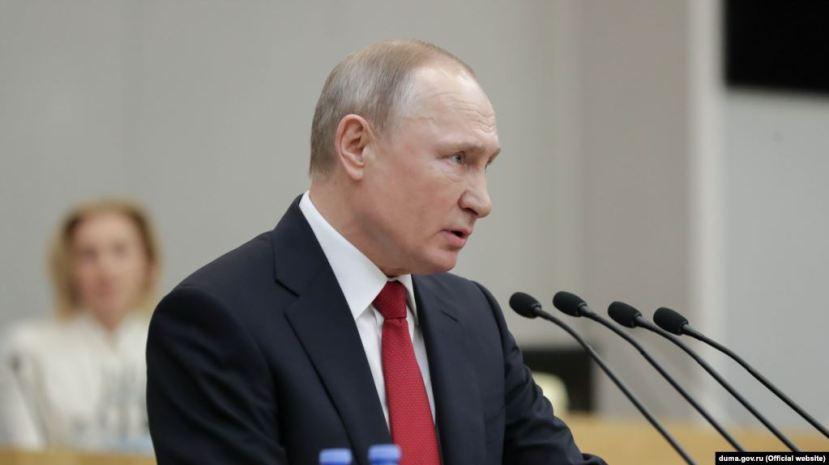 Russian President Vladimir Putin'