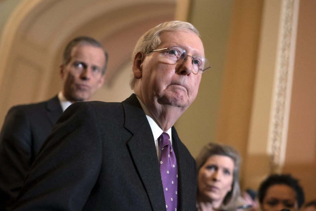 Senate Majority Leader Mitch McConnell. | J. Scott Applewhite/AP Photo
