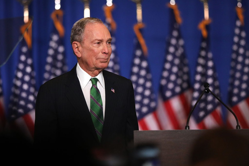 Former Democratic presidential candidate Mike Bloomberg. | Spencer Platt/Getty Images
