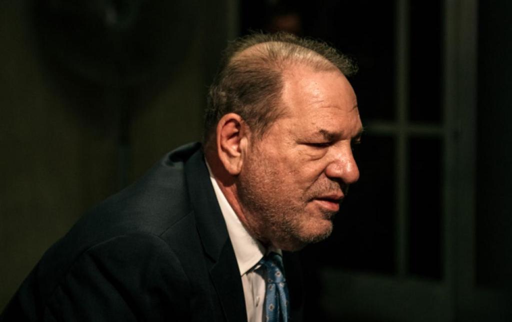 Harvey Weinstein enters New York Criminal Court, Feb. 24 (Scott Heins, Getty)