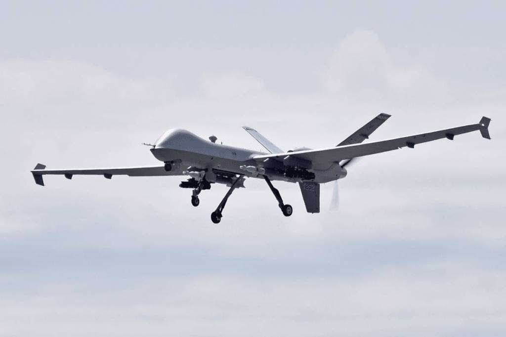 MQ-9 Reaper during Exercise Northern Strike 2019. (Arizona Air National Guard/Released)