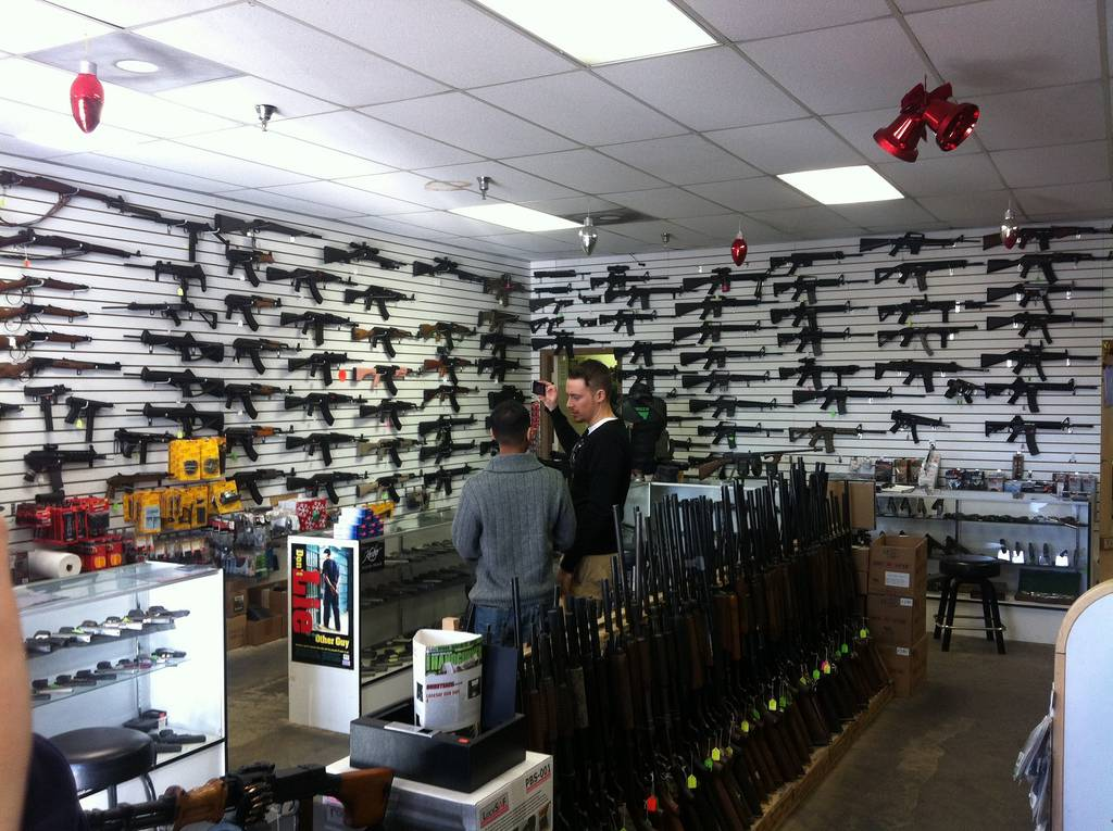 A gun store. (Andrew/Flickr)