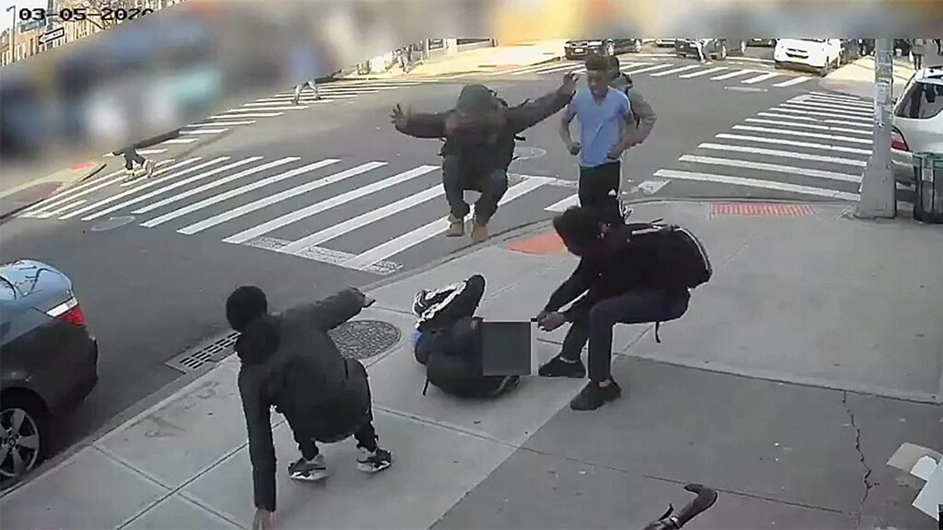 Police said they are investigating a 15-year-old girl's vicious mugging that was caught on video.  (NYPD)