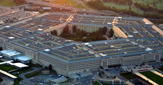 US pentagon building aerial view at sunset (Dreamstime/TNS)